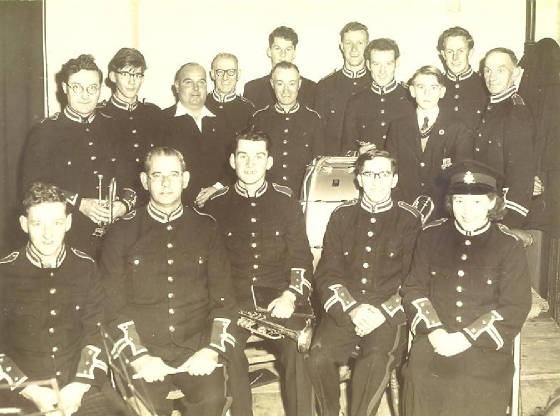 Ottery St Mary Town Band circa 1953